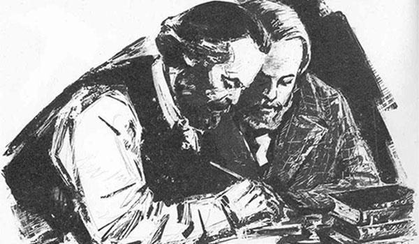 Manifiesto Comunista. Prólogo a la edición rusa de 1882 - Karl Marx y Friedrich Engels 20180221_marx_engels